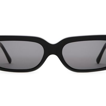 Crap Eyewear - Paradise Machine Black Sunglasses / Grey Lenses