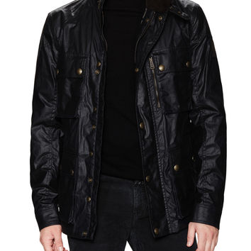 Belstaff Men's Trialmaster Signature Waxed Jacket - Dark Blue/Navy
