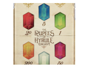 Legend of Zelda The Rupees Geek Line Artly iPhone Cases & Skins
