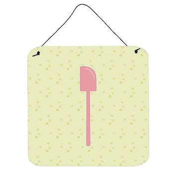 Spatula on Green Wall or Door Hanging Prints BB7298DS66