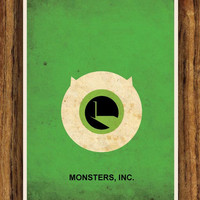 Monsters, Inc. A3 Poster