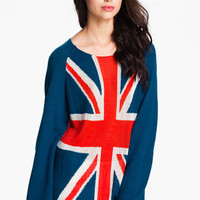 Wildfox 'Save The Queen' Union Jack Sweater | Nordstrom