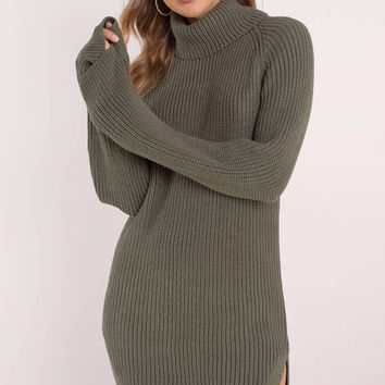 Knit While You're Ahead Sweater Dress