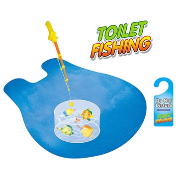 New Creative Toilet Fisher Game Potty Fishing Toy = 1714295044
