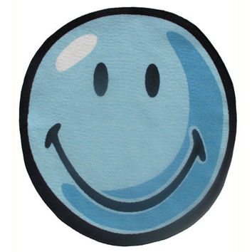 Fun Rugs Smiley World Collection Blue Area Rug