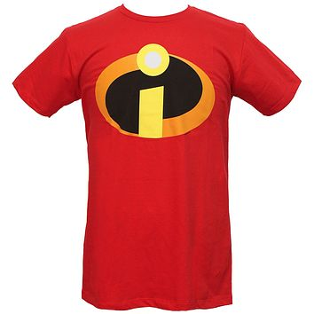 Disney Pixar Men's The Incredibles Logo T-Shirt
