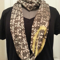 Sherlock Infinity KNIT scarf - made to order
