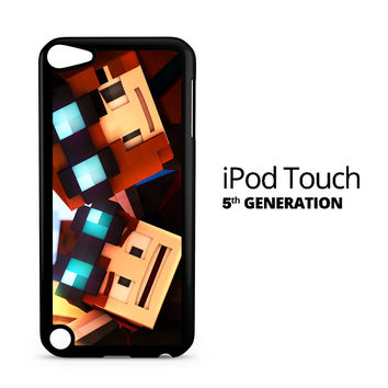Minecraft Faceplant iPod Touch 5 Case