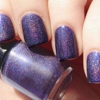Feeling Royal - LIMITED EDITION Custom Purple Holographic Nail Polish