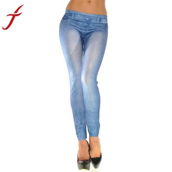 Sexy Cotton Stretch Skinny Leg Jeans