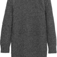 Cédric Charlier - Chunky-knit alpaca-blend mini dress