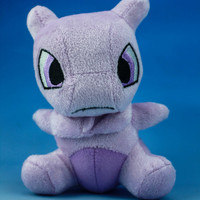 MewTwo Plush Pokemon / Pocket Monster PKM Cute