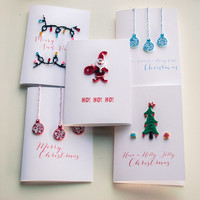 Christmas Card Set - Holiday Card Set - Christmas Cards - Merry Christmas Card Pack - Discounted Rate