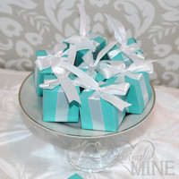 Favors - Tiffany & Co. Inspired Box Favors for Any Event - 1 Dozen