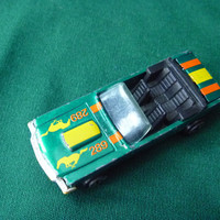 Ford Mustang Car 1979 Kidco Green Convertible 289 Horse & Stripe Tampos