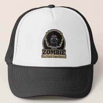 ZOMBIE We Want Your Brains Ver.2 Trucker Hat