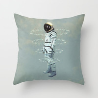 crystallization Throw Pillow by Seamless