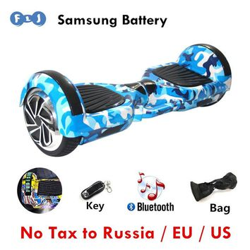 FLJ Newest Hoverboard 6.5 inch wheels self Balancing scooter hoverboard electric scooter Skateboard Two Wheels Kid Balance car