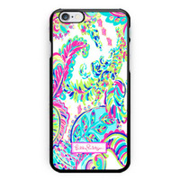 New Lilly Pulitzer Lulu Print On Hard Case For iPhone 6s 6s plus
