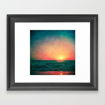 Fade Away Framed Art Print by Faded  Photos
