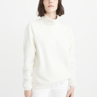Womens Fleece Turtleneck | Womens New Arrivals | Abercrombie.com