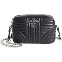 Prada Small Bowler Quilted Calfskin Leather Crossbody Bag | Nordstrom