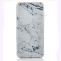 Granite Marble Grain Soft Phone Case Cover for iPhone 6/6S/6 Plus Black Friday - Cyber Monday Sale
