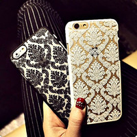 Vintage Damask Mandala Lace Pattern for iphone 6s case iphone 6 case