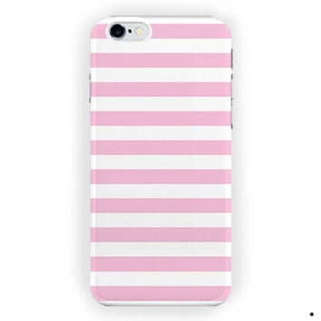 Light Pink Stripes Walls Design For iPhone 6 / 6 Plus Case