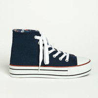 CLASSIC MID TOP SNEAKERS