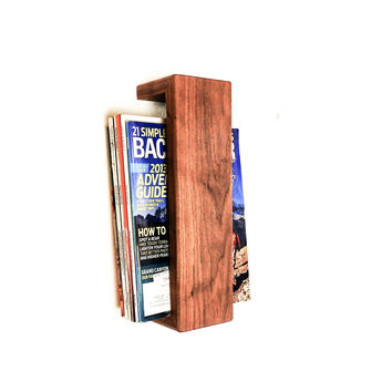 W/S Floating Magazine Rack