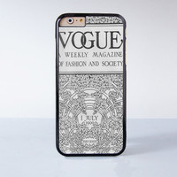 Vouge July 1  Plastic Phone Case For iPhone 6  More Style For iPhone 6/5/5s/5c/4/4s iPhone X 8 8 Plus