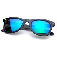 Reflective Revo Color Mirror Lens Wayfarer Sunglasses