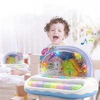 Baby Musical Toys Snowflake Keyboard Piano Toys