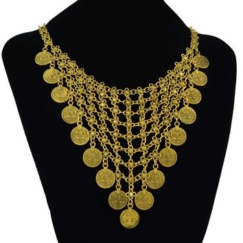 Gift New Arrival Jewelry Shiny Tassels Bohemia Stylish Vintage Necklace [1292354289731]
