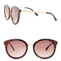 Kenneth Cole Reaction | Metal Round Injected Sunglasses | Nordstrom Rack