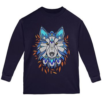 Totem Wolf is my Spirit Animal Youth Long Sleeve T Shirt
