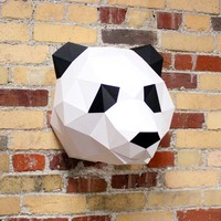 Claire the Panda | DIY Paper Sculpture Kit