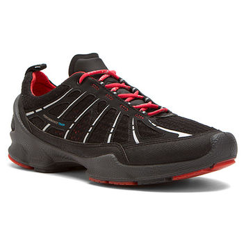 ECCO BIOM Train Sneaker | Women's - Black Synthetic/Textile