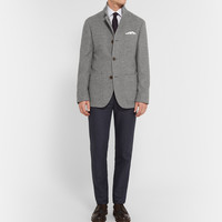 Brunello Cucinelli - Grey Unstructured Cashmere Jacket | MR PORTER