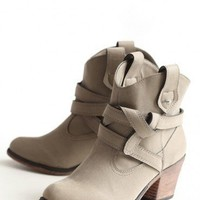 sayla buckle booties at ShopRuche.com