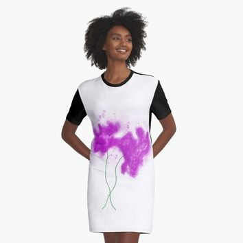 'together' Graphic T-Shirt Dress by BillOwenArt