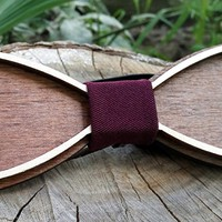 Unique Wooden Bow Tie / Wood Bow Tie / Unique Design Engraved / Boys Bowtie / Wedding Wood Bowtie / Wooden Bowtie / Mens Bow Tie. 100% Hand Made - Mens Gift