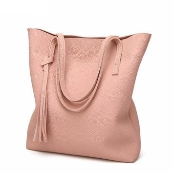 High Quality Soft Leather tote Handbag