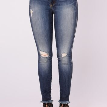 Craving You High Rise Jeans - Dark Denim