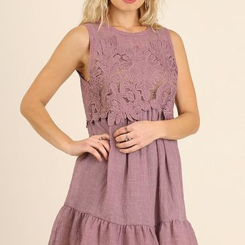 Umgee Mauve Dress