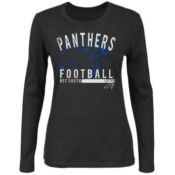 Carolina Panthers Women's Illegal Formation IV Long Sleeve T-Shirt - Black