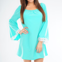 Don't Forget About Me Dress: Mint