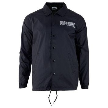 PEAPGQ9 Pantera - 101 Proof Cut N Sew Adult Coaches Jacket