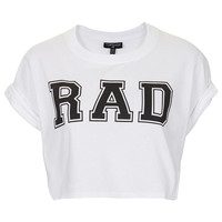 Rad Crop Tee - New In This Week - New In - Topshop